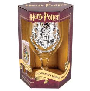 Harry Potter colour changing glass £6.23 with code and free del over £10