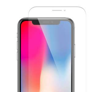 BOGOF iPhone X Premium Tempered Glass Screen Protector for Apple iPhone X 10 99p @ Techdeal2015  via Ebay