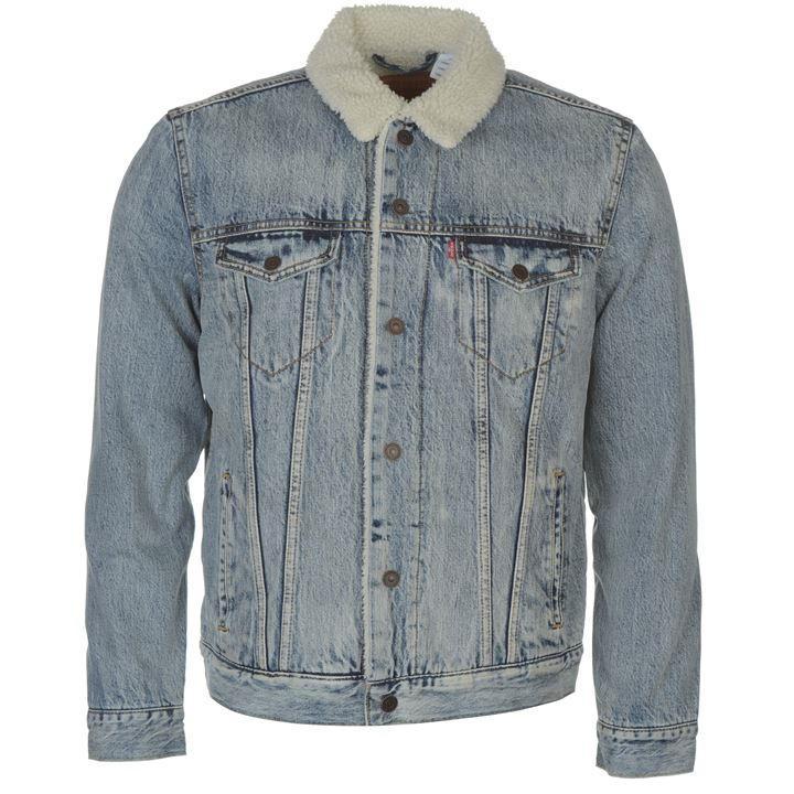Levis trucker sherpa jacket £55 + delivery @ USC