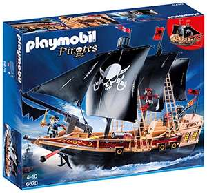 Playmobil 6678 Floating Pirate Raiders' Ship with Cannons reduced from £49.99 down to £25 @ Amazon