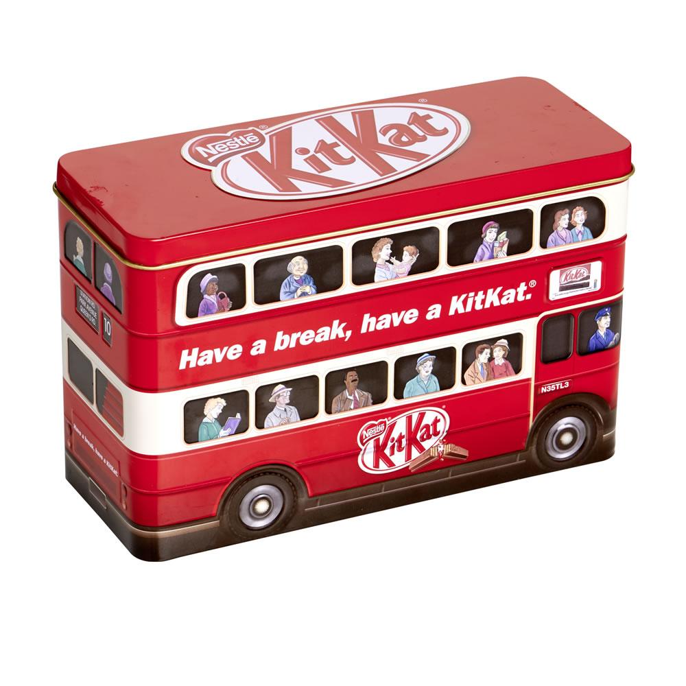 KitKat Bus Tin £1.99  instore @ B&M