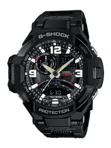 G-SHOCK AVIATOR GRAVITY DEFIER COMPASS THERMOMETER BLACK WATCH, £138.72 at amazon