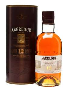 Aberlour 12 Year Whisky 70cl £28! Tesco
