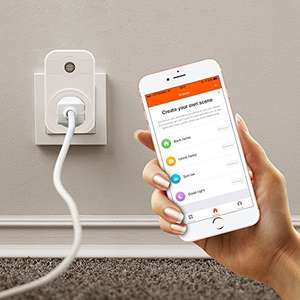 TOP-MAX Wireless WiFi Smart Socket works with Amazon Alexa & Google Home £12.99 Sold by TOP-MAX DirectShop @ Amazon