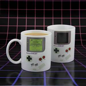 Nintendo Gameboy heat changing mug