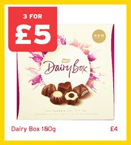 Nestle Dairy Box 180g - 3 boxes for a Fiver @OneStopShop