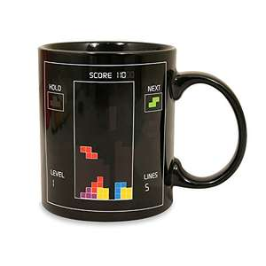 Tetris Heat Change Mug £5.59 Dispatched from and sold by Home Emporium UK – ORDER BY 21ST FOR XMAS DELIVERY.  @ Amazon
