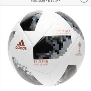 adidas World Cup Telstar Top Glider Football £17.99 + delivery @ SportsDirect