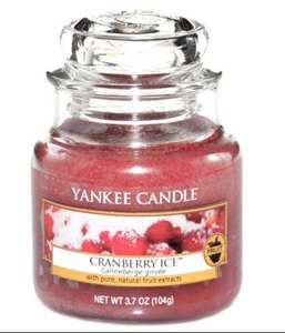 Cranberry Yankee Candle Jar Small £4.59 - Amazon add on