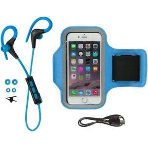 KitSound Race Bluetooth headset & Armband Sports Bundle Blue  £9.75 RRP £19.99 save £10.24 (51% OFF*) at Vodafone EBAY Outlet