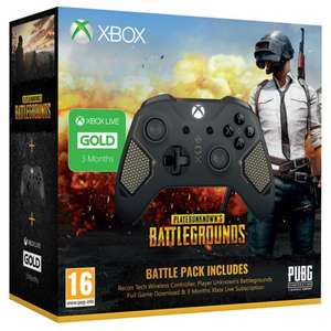 PLAYERUNKNOWN's (XO) + Xbox Wireless Controller - Patrol Tech Special Edition + 3 Months Xbox Gold £69.99 Delivered @ GAME