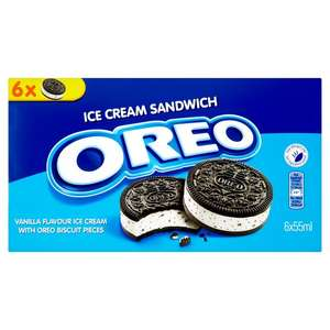 Oreo ice cream sandwichs £1 in farmfoods
