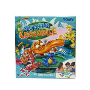 Tomy crunching crocodile game £3.94 amazon add on