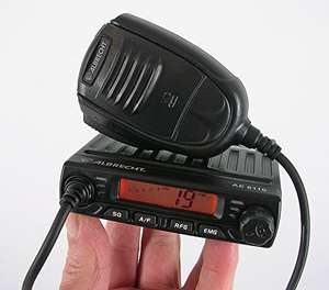 Albrecht AE-6110 Ultra Compact AM/FM Mini Mobile CB Radio, £49.95 delivered @ amazon