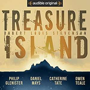 Audible DOTD, Treasure Island 99p staring Philip Glenister &  Catherine Tate audio book