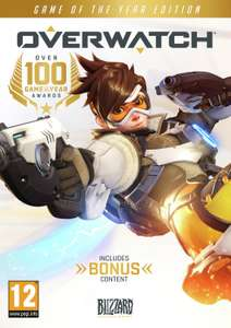 Overwatch Game of the Year PC Game for £20.99 @ Argos