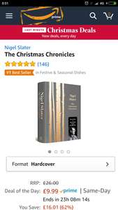 The Christmas chronicles (Hardcover ) £9.99 (Prime) / £11.98 (non Prime) at Amazon