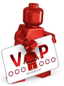 Double Lego VIP Points  from 15th to 17th December 2017