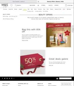 Marks and Spencer winter wonders bag now £10 from £70