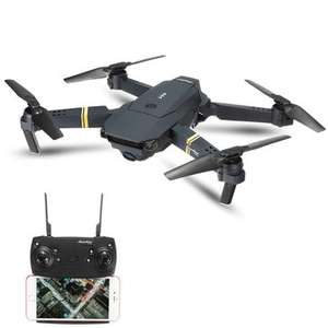 Eachine E58 WIFI FPV With High Hold Mode Foldable RC Drone Quadcopter - £28.40 Banggood