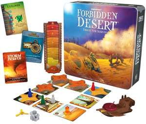 Forbidden Desert - £16.99  (Prime) / £21.74 (non Prime) Sold by GamesQuest and Fulfilled by Amazon.