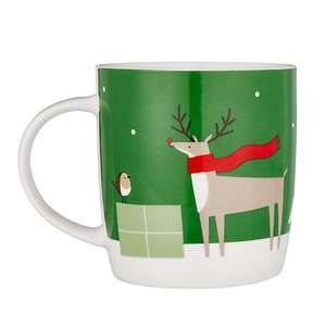 Christmas mug with money box £4.20 John Lewis