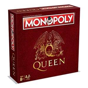 Queen Monopoly £14.99 Prime / £19.74 Non Prime @ Amazon (Delivers before Christmas)