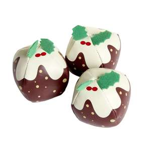 Set of 3 Juggling Christmas Puddings £3 C+C / Instore @ Wilko