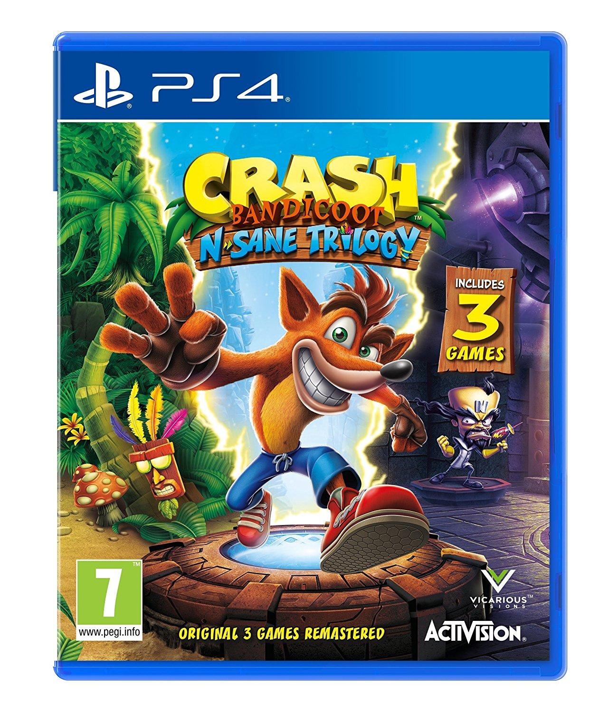 Crash Bandicoot N. Sane Trilogy (PS4) £20 delivered @ Amazon