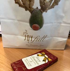 Free chocolate bar with purchases from Pret A Manger