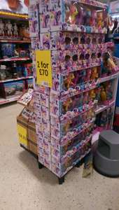 my little pony set - 2 for £70 instore @ Tesco