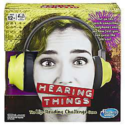 Hearing Things Game now £22.50 + Receive 500 Extra Clubcard Points C+C @ Tesco Direct (Promo offer Collect 500 extra Clubcard points wys £20 / 1000 extra wys £40 or more on selected Hasbro Gaming(