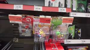 Mario & Rabbids Kingdom Battle Figurines (amiibo style) - £4.99 - Sainsbury's Instore