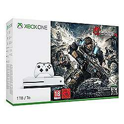 Xbox One S 1TB Gears of War 4 Console Bundle - £229 @Tesco Direct