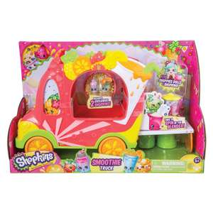 Shopkins Shoppies Smoothie Truck was £15 now £4.96 C+C @ Toys R Us (Free Shopkins Stamper wys £12 or more on Shopkins Toys)