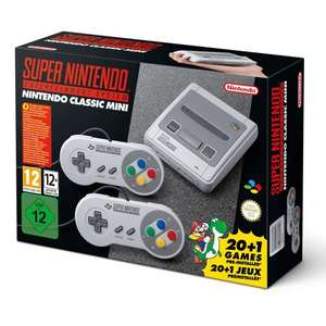 Nintendo SNES Classic mini. Smyths toys. In stock at many locations. - £79.99