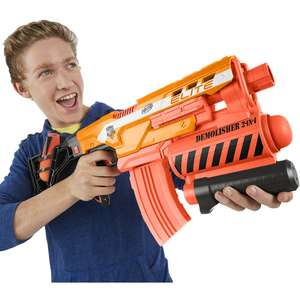 Nerf N Strike Elite Demolisher PLUS Modulus Scope PLUS 30 darts PLUS free delivery for £25.92 - Toys R Us