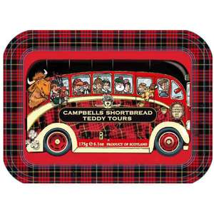 Campbells Shortbread Teddy Tours Bus Tin 175g @ Wilko