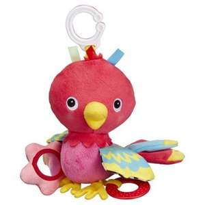 Carousel wriggly parrot reduced to £4.50 at Tesco