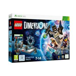 Lego Dimensions Starter Pack Xbox 360 @ Smyths £14.99 + £2.99 delivery or free click and collect