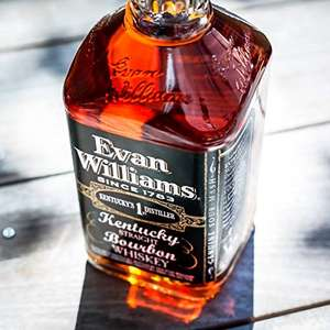Evan Williams Extra Aged Bourbon Whiskey / Whisky - £17 (Prime) £21.75 (Non Prime) @ Amazon
