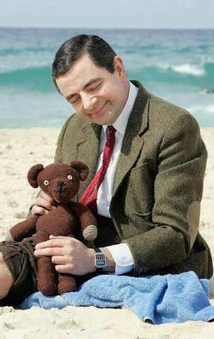 Mr Bean Teddy - 74p delivered w/code @ Gearbest