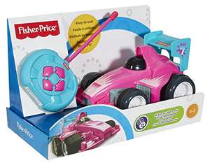 Fisher-Price CMC31 My Easy Racing Car, Pink - Cheapest ever! Amazon £12.61 Prime / £16.91 non Prime (In stock on December 21st, 2017)