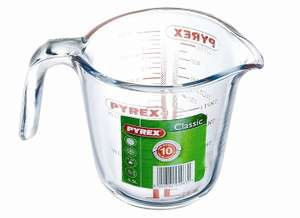 Pyrex Glass Measuring Jug, 0.5L ~ £1.97 Add-on @ Amazon