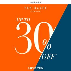 Ted Baker up to 30% off sale