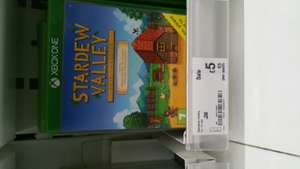 Stardew Valley xbox 1 - £5 at Asda instore