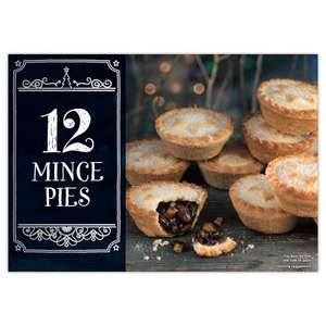 12 Mince Pies @ Iceland £1.75
