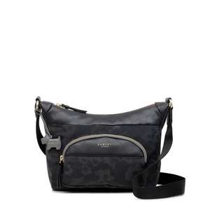 Radley - Shadow Roar Black Bag (was £75) Now £38.25 w/code + Free UK Christmas Delivery at Radley (links in post)