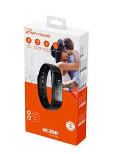 ACME ACT101 Activity Tracker Black - Was £29.99 - now £17.99 at selected Lloyds Pharmacies and online