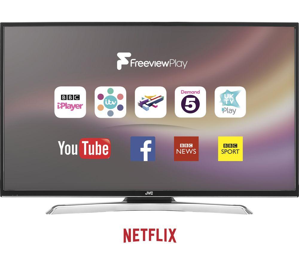 "JVC LT-49C870 49"" Smart 4K Ultra HD LED TV - £349.99 @ Currys"